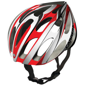 Carrera Razor 2014 Road Helmet - White/Red
