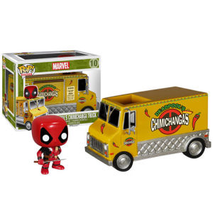Marvel Deadpool Chimichanga Truck Funko Pop! Rides