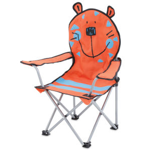 Gelert Kids Antic Chairs - Red Tiger