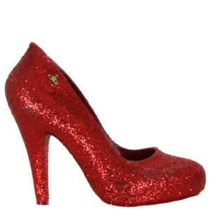 Vivienne Westwood - Shoes Women's Glitter Skyscraper Shoes - Red