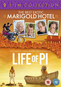 Best Exotic Marigold Hotel/Life Of Pi – 2 Film Collection
