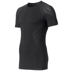 Odlo Men's Evolution Light Short Sleeve Crew Neck Base Layer - Black