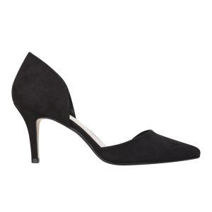 Miss KG Women's Celina Heeled Suedette Court Shoes - Black