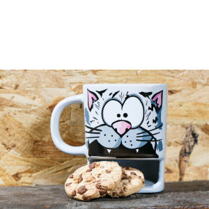 Brew Buddies Cat Mug - Multi