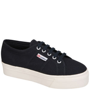Superga Women's 2790 Up and Down Flatform Trainers - Navy