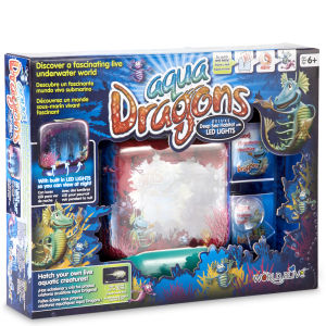 Aqua Dragons Illuminated
