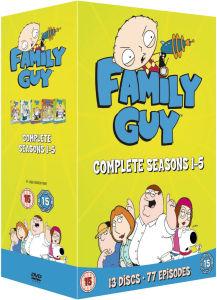 Family Guy - Temporadas 1-5