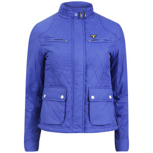 Le Breve Women's Wayan Lightweight Jacket - Electric Blue