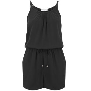 Vero Moda Women's Friday Playsuit - Black