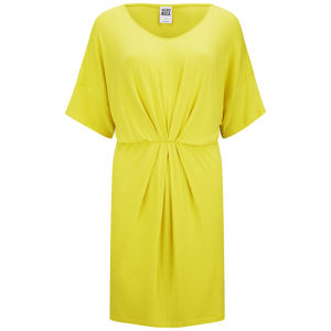 Vero Moda Women's Kimono Dress - Yellow