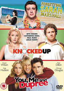 Forgetting Sarah Marshall/Knocked Up/You, Me And Dupree