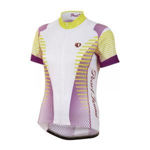 Pearl Izumi Women's Elite Ltd SS FZ Cycling Jersey - Futuristic Orchid