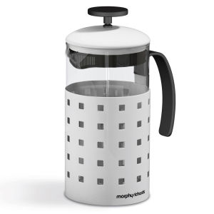 Morphy Richards Accents 8 Cup Cafetiere - White