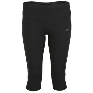 New Balance Women's NBX Boylston Capri - Black/Grey