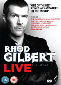 Rhod Gilbert Verzameling 1-3