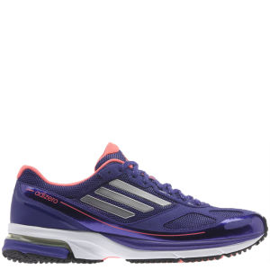 adidas Women's Adizero Boston 4 Running Shoe Blast Purple/Blast Purple Met/Red Zest
