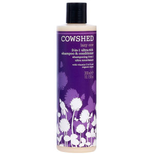 Cowshed Lazy Cow 2 in 1 Ultra Rich Shampoo und Conditioner (Ultra-Nährend)