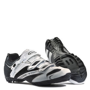 Northwave Fondo Srs Touring Cycling Shoes - White/Black