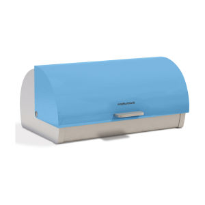 Morphy Richards Accents Roll Top Bread Bin - Blue
