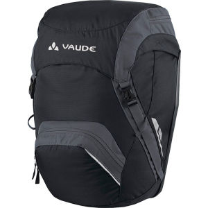 VAUDE Road Master Back Pannier - Black/Anthracite