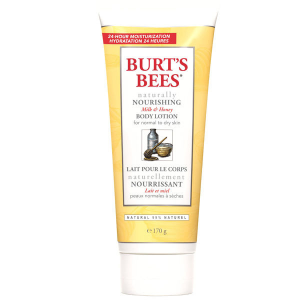 Burt's Bees Naturally Nourishing Milk & Honey Body Lotion (236ml)