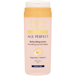 Tónico Dermo Expertise Age Perfect Refreshing Toner - Smoothing + Anti-Fatigue de L'Oreal Paris (200 ml)