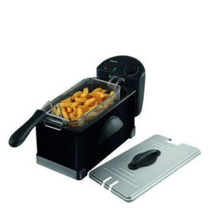 Elgento 3 Litre Stainless Steel Fryer - Black