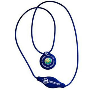 Power Balance -The Original Performance Pendant   PB Blue With White Lettering