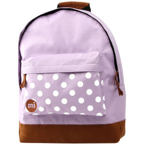 Mi-Pac Polkadot Backpack - Lilac