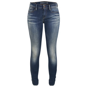 Denham Women's Sharp FBS Mid Rise Skinny Jeans - Mid Wash