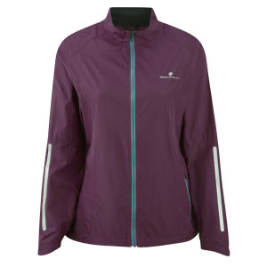 RonHill Women's Aspiration Windlite Running Jacket - Grape/Teal