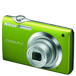 Nikon S3000 Digital Camera - Green (12MP, 4x wide Optical Zoom) 2.7 Inch LCD - Refurbished