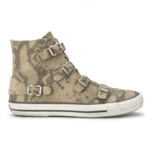 Ash Women's Virginia Snakeskin Trainers - Cobra
