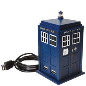 Dr Who: Tardis USB 4 Port Hub