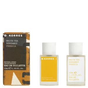 Korres White Tea, Bergamot And Freesia Shower Gel 250ml
