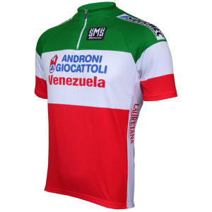 Santini Androni Italian National Champions SS Cycling Jersey - 2013