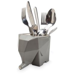 Jumbo Cutlery Drainer - White