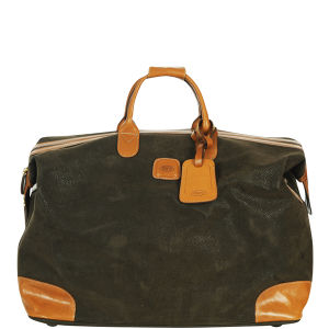 Bric's Life Frame Top Holdall - Olive