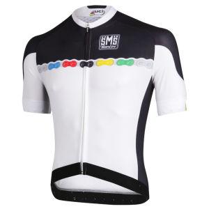 Santini UCI Fashion SS FZ Cycling Jersey - 2013