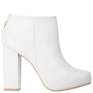 Kat Maconie Women's Grace Heeled Ankle Boots - Ice Grey