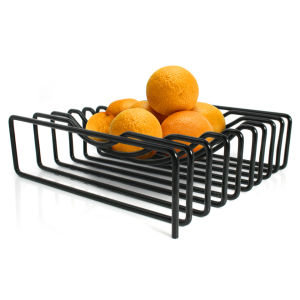 Wire Fruit Bowl - Black