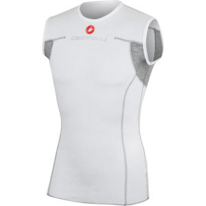 Castelli Flanders Sleeveless Base Layer - White