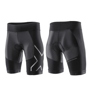 2XU Women's G:2 Compression Triathlon Shorts - Black