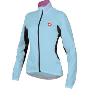 Castelli Women's Velo Windbreaker Jacket - Blue