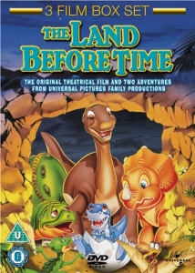 The Land Before Time 1, 2 and 3 (Lenticular Sleeve)