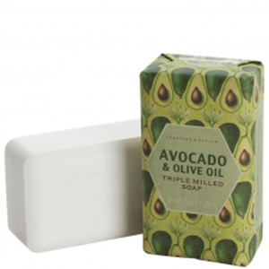 Crabtree & Evelyn Avocado & Olive Oil Triple-Milled Soap (158g)