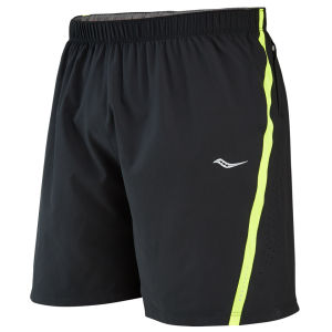 Saucony Run Lux III Shorts - Black