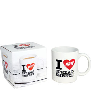 I Hate Spreadsheets Mug