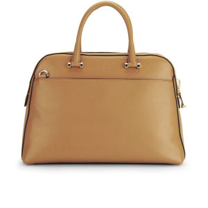 MILLY Blake Medium Kettle Leather Tote Bag - Caramel