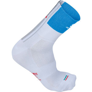 Sportful Gruppetto 12Cm Socks - White/Blue